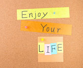 Enjoy your life — Stock Photo