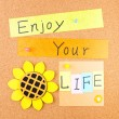 Enjoy your life - Stock Photo