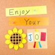 Enjoy your job — Lizenzfreies Foto