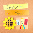 Enjoy your job — Stockfoto