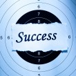 Success concept — Foto Stock