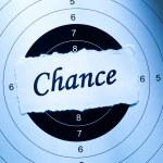 Chance concept — Stock Photo