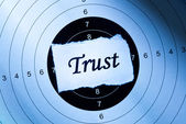 Trust concept — Stock Photo