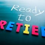 Ready to retire — Stock Photo