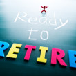 Ready to retire — Stock Photo