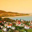Stock Photo: Landscape at Lake Balaton,Hungary