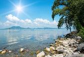 Landscape of Lake Balaton, Hungary — Stock Photo