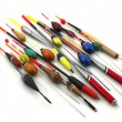 Fishing bobbers - Stock Photo