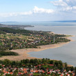 Panorama to Lake Balaton,Hungary — Foto de Stock