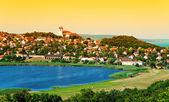 Landscape of Tihany at the inner lake, Hungary — Stock Photo