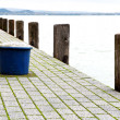 Detail of harbor at Lake Balaton, Hungary — Stock Photo