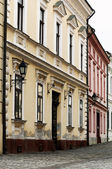Dettaglio della città vecchia strada a veszprem, ungheria — Foto Stock