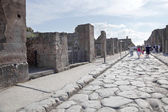 Pompeii. Street — Stock Photo