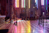 In the cathedral of Saint Stephen — Stock Photo