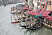 Embankment of Grand Canal. Venice — Stock Photo