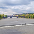Vltava river — Stock Photo