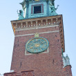 Stock Photo: Chimes Wawel Castle