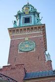 Chimes Wawel Castle — 图库照片