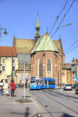 Krakow, urban landscape — Stock Photo
