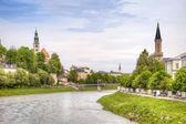 Salzburg, krajobraz miasta — Zdjęcie stockowe