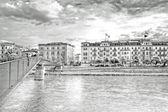 Most na rzece salzach — Zdjęcie stockowe