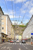 Salzburg, a city landscape — Stock Photo