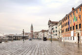 Riva degli Schiavoni. Embankment. Venice — Stock Photo