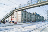 Saransk, railway station — Stock Photo