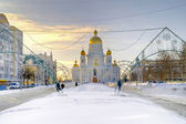 City Saransk — Stock Photo