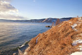 Lake is Baikal — Stock Photo