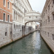 Venice. Bridge of sighs - Stock Photo