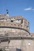 Starobylý hrad v centru Říma — Stock fotografie