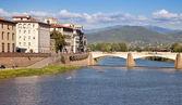 River Arno — Stock Photo