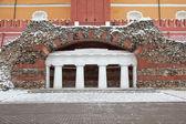 Moscow. Kremlin. Alexander Garden. Grotto — Stock fotografie