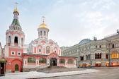 Complejo de edificios en la plaza roja — Foto de Stock
