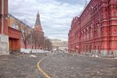 Wieża Komendancka przejście i uglovaya Kremla — Zdjęcie stockowe