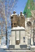 Fundadores da cidade de nizhny novgorod — Fotografia Stock