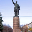 Monument to communist Kirov - Stock Photo