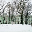 Stock Photo: Winter palace. Panorama. Courtyard
