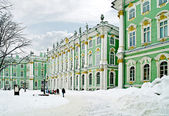 Winter palace. Courtyard — Stock Photo