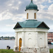 Chapel ashore — Stock Photo