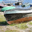 Boat ashore — Stock Photo