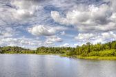 Island in lake Ladoga — Stock Photo