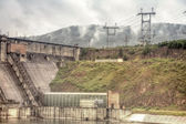 Krasnoyarsk hydroelectric power plant — Stock Photo