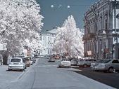 Odessa, the urban landscape — Stock Photo