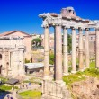 City Rome. Roman Forum — Stock Photo