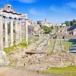Stock Photo: City Rome. Roman Forum