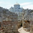 Chersonesus and the Vladimirskiy cathedral - Foto Stock