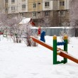 Stock Photo: Playground of childrens