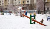 Playground of childrens — Stock Photo